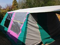 TRIGANO FRAME TENT, FAMILY 6 BERTH