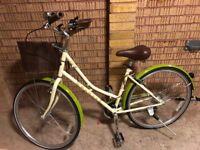 Dawes Ladies Bike AS NEW! - with helmet, lights and Kryptonite lock