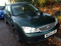2005 Ford Mondeo MK3 1.8 LX 5dr honour green BREAKING FOR SPARES