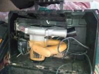 Dewalt circular saw new blade 240 volt with case