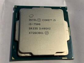Intel i5 7500 Cpu Only