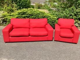 Harvey's sofa & chair