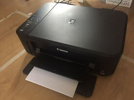 Canon PIXMA MG3550 Inkjet Printer ALL IN ONE WIFI USED NEW INKS ORIGINAL - FRONT BACK
