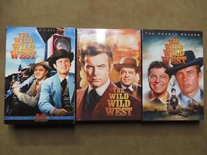 WILD WILD WEST, SEASON ONE, THREE AND FOUR