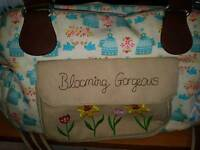 Blooming gorgeous birdcage bag
