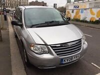 Chrysler Grand Voyager (Exec Xs Crd A) Automatic ,Diesel , Full Leather , 7 Seater, MOT 24/02/2018