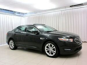 2013 Ford Taurus SEL AWD V6 SEDAN w/ NAV, SUNROOF & ALLOYS - TES