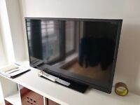 """TOSHIBA 40"""" FULL HIGH DEFINITION SMART LED TV WITH WIFI BUILT-IN + FREE GOOGLE CHROMECAST"""