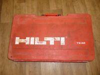 Hilti TE42 heavy duty drill/breaker 110volt