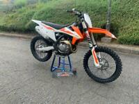 2019 KTM 450 SXF LOW HOURS GREAT SERVICE HISTORY