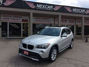 2012 BMW X1 AUT0 AWD LEATHER PANORAMIC ROOF 74K