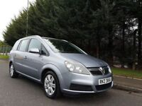 JULY 2006 VAUXHALL ZAFIRA ACTIVE 1.6 16v PETROL 7SEATER EXCELLENT CONDITION MOT JULY 2018