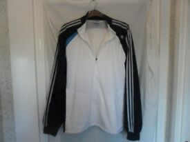 ADIDAS CLIMACOOL MESH LINED JACKET TRACKSUIT TOP - UK 46/48