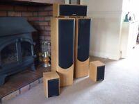 Scneider 5 x Surround Speakers