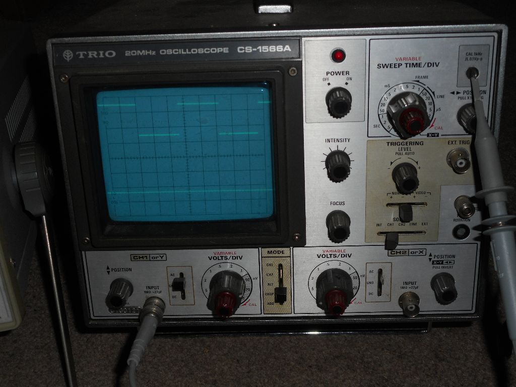 Oscilloscope Model Number : Trio mhz dual oscilloscope in high wycombe