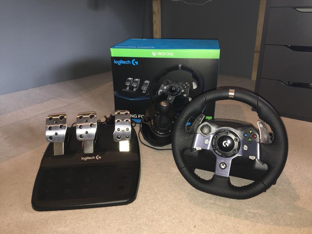 Logitech G920 Driving Wheel (Xbox One/PC)