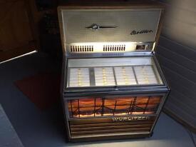 Carillion Wurlitzer jukebox