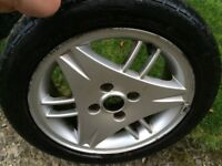 Ford Escort SI alloy wheel