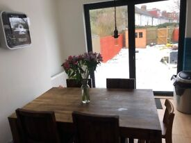4 Bed House all doubles including 1 loft room with en-suite, great garden, new kitchen & bathroom