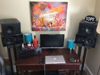 Dynaudio BM10 (pair) passive studio monitors speakers. Mint Condition
