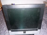 T.V. Flat Screen with Remote £15. For Quick Sale.