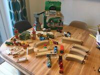 Brio Thomas wooden train track plus loads of brilliant extras