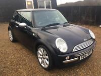 MINI COOPER 1.6 2004 GLASS ROOF FULL LEATHER HPI CLEAR EXCELLENT CONDTION