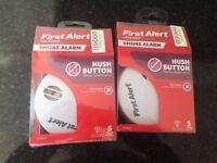 Two Battery Smoke Alarms - Free
