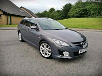 2009 MAZDA 6 SPORT...2.0 DIESEL...140 BHP...6 SPEED...55 MPG...TOP RANGE...FULL MOT...MINT CAR