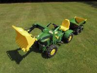 Extra Large John Deere Tractor