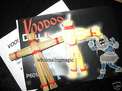 Voodoo Doll Magic Trick Rising Close Up Street Party Show Mentalism HALLOWEEN DD (Halloween Party Magic Tricks)