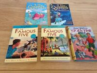 Famous Five Books & Lily Quench Books