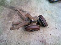 Bmw e30 320 318 316 rear wishbones with brakes.