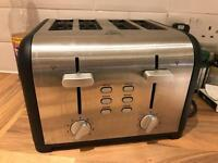 Sainsburys 4 piece toaster