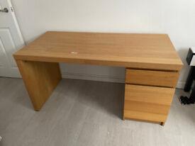 Ikea Malm Desk (140 x 65cm)