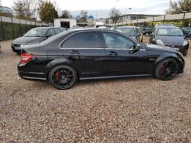 2010 mercedes c63 AMG 6.3 Performance pack performace exhaust awesome sports car