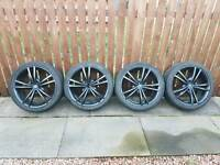 "18"" 5stud, Satin Black TSW Alloys for sale"