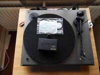 Revolver turntable with LVX tone arm and MM cartridge