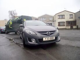 Mazda 6 diesel sport two owners from new one years mot