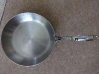 James Martin Stellar frying pan 26cm - engraved signature on handle. Good condition.