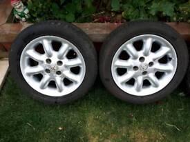 Mgf tf Minilite alloy wheels