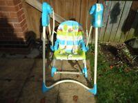 FISHER PRICE 3-in-1 Swing n' Rocker Infant Chair