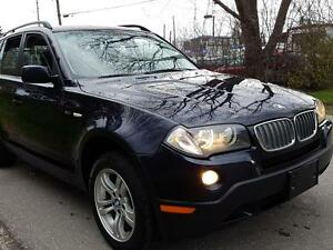 2007 BMW X3 3.0i AUTO,PAN.SUNROOF,LOADED,CERT.$10475