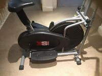 Pro cross 2in1 trainer exercise-cardio workout machine at a throwaway price