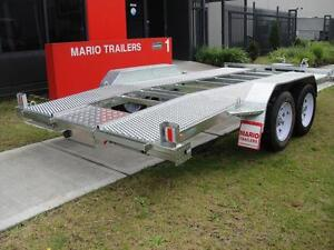 14x6.6 CAR TRAILER BEAVER TAIL GALVANISED WITH EXPENDED MESH Auburn Auburn Area Preview