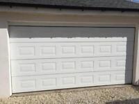 Double Electric Garage Door