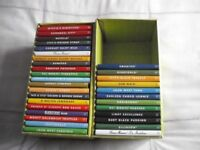 SET OF 32 COOKERY BOOKS. NEW.