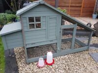 sussex chicken house, A beautiful all-in-one coop and run solution for 2-5 hens.