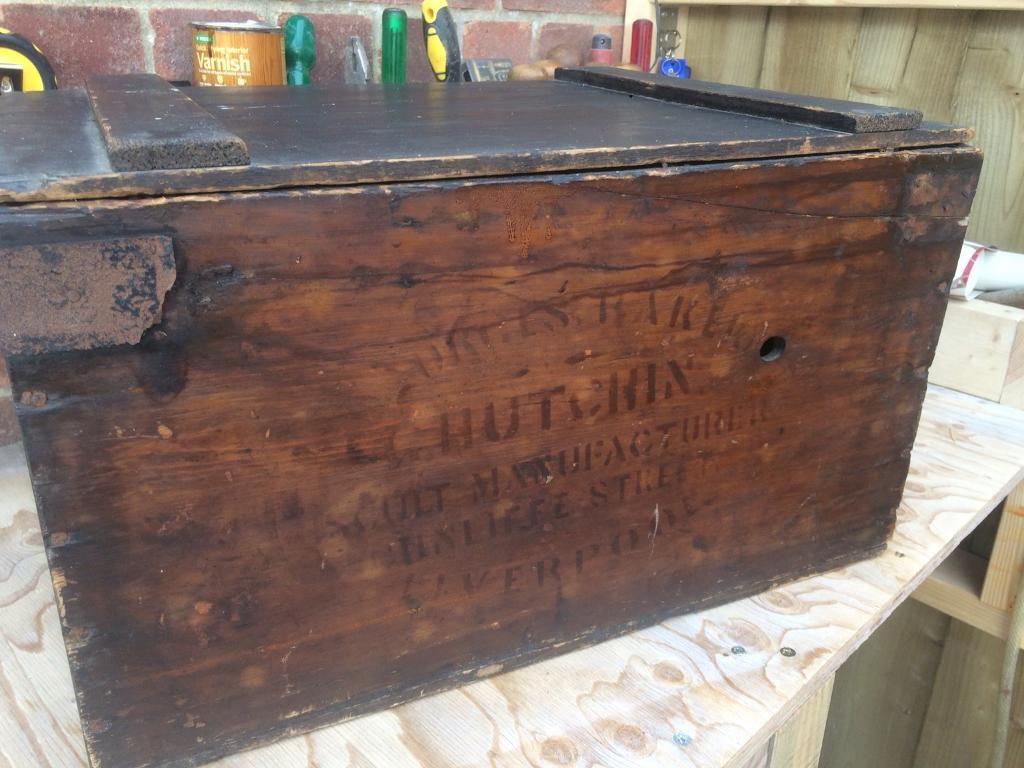 Edwardian box/chest