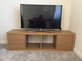 IKEA KALLAX TV MEDIA STORAGE UNIT CUPBOARD SQUARE